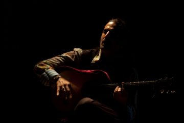 Flamenco Guitar Player