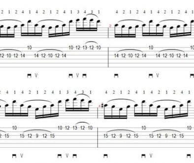 Paul Gilbert Guitar Licks